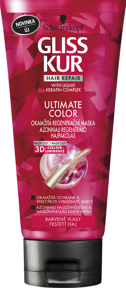 Gliss Kur ULTIMATE Color okamžitá regeneračná maska
