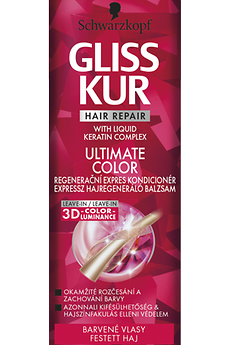 Gliss Kur ULTIMATE Color expresný regeneračný kondicionér